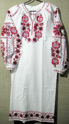 Сорочка жіноча по народному крою В335 - Вироби та сувеніри ... 11bdafcbd423d