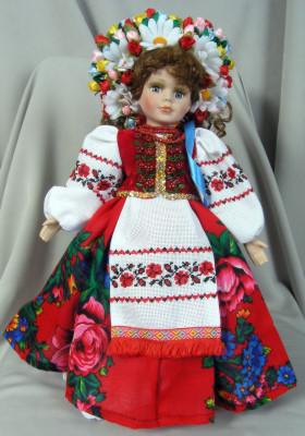Лялька україночка велика