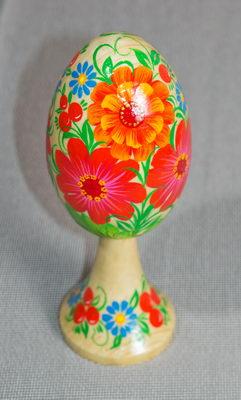 Писанка квіти україни